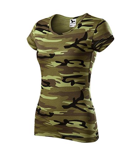 Majica kratkih rukava ženska PURE 122 Camouflage