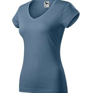 Majica kratkih rukava ženska FIT V-neck