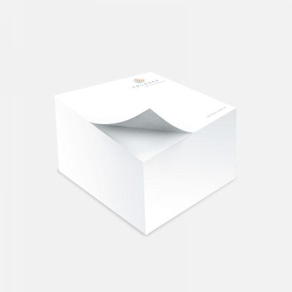 Telegra, 9x9cm, 500 lista, tisak 2/0, ljepljeno