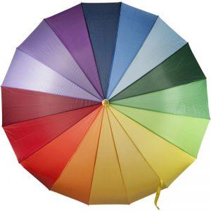 kišobran u duginim bojama