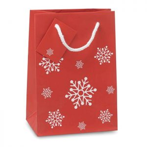 Božićna poklon vrećica Bossa SMALL