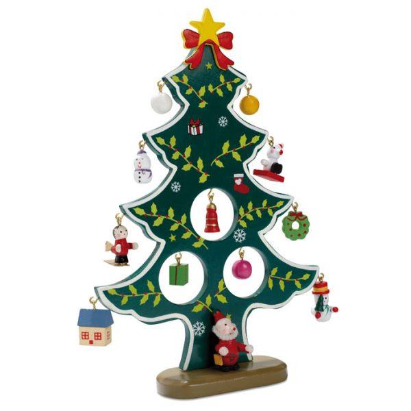 Drveno božićno drvce