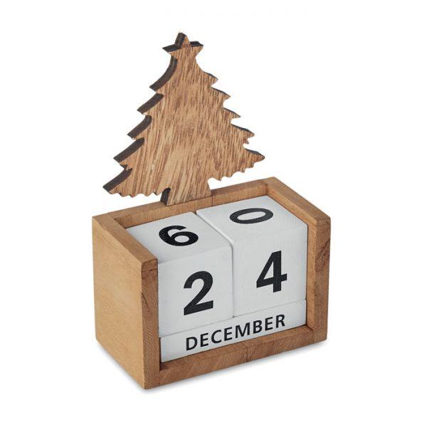 Drveni stolni kalendar