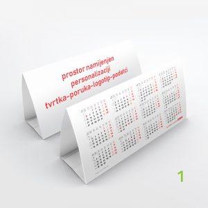 Stolni kalendar jednolisni