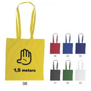Platnena vrećica s porukom